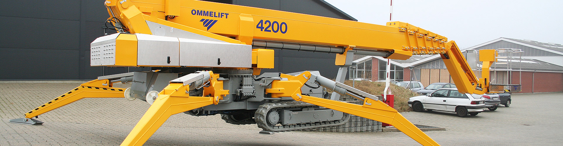 OMMELIFT Crawler Lift 4200 RJ