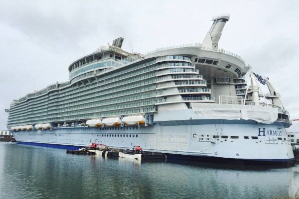 Vi er leverandør til verdens største krydstogtskib